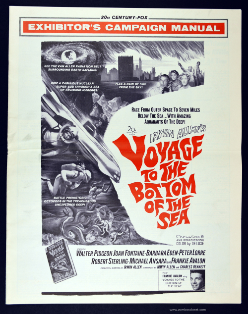 Voyage to the Bottom of the Sea Pressbook 0001