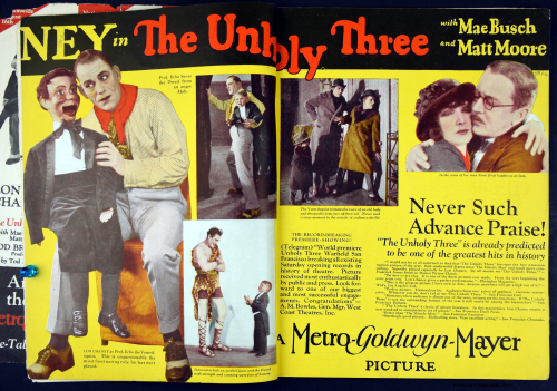 Lon Chaney Unholy 3 ad 2