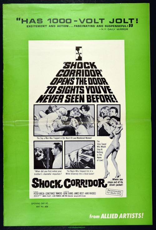 Shock Corridor Pressbook 01