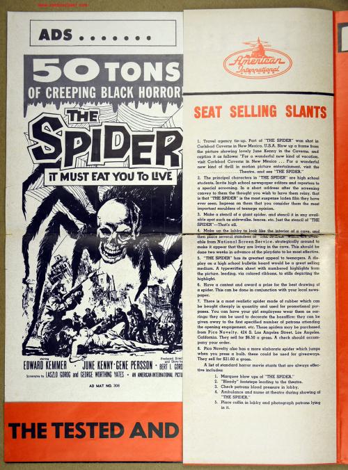 The Spider Pressbook 001