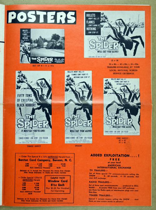 The Spider Pressbook 012