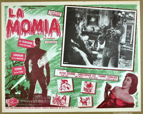 The Mummy mexican lobby card 2