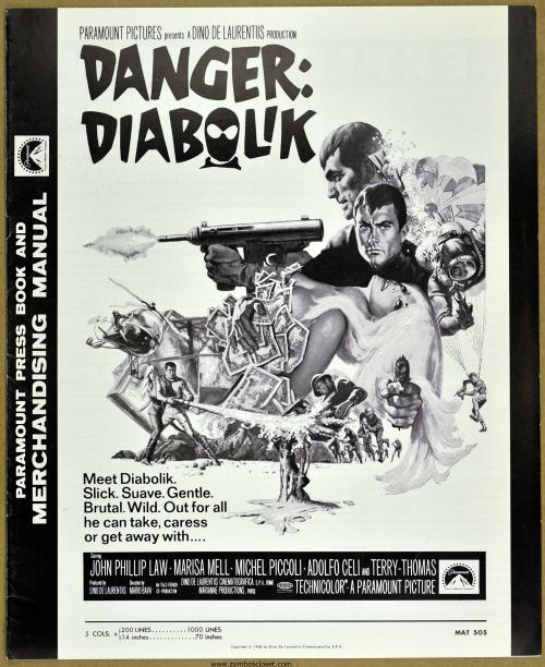 Danger Diabolik Pressbook 001