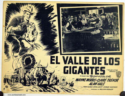 Valley of the Giants Mexican Lobby card