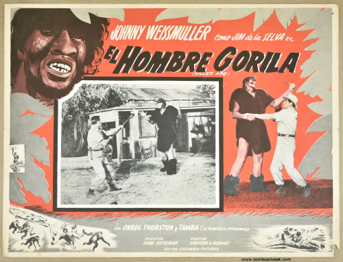 Killer ape lobby card