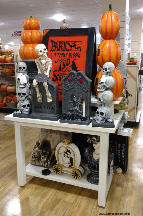 Marshalls TJ Maxx And Home Goods Halloween 2017 From Zombos Closet