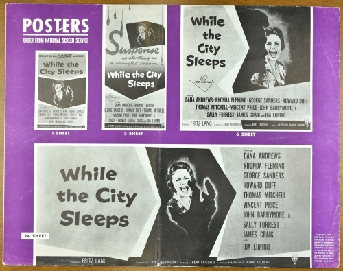 While the City Sleeps Pressbook 15