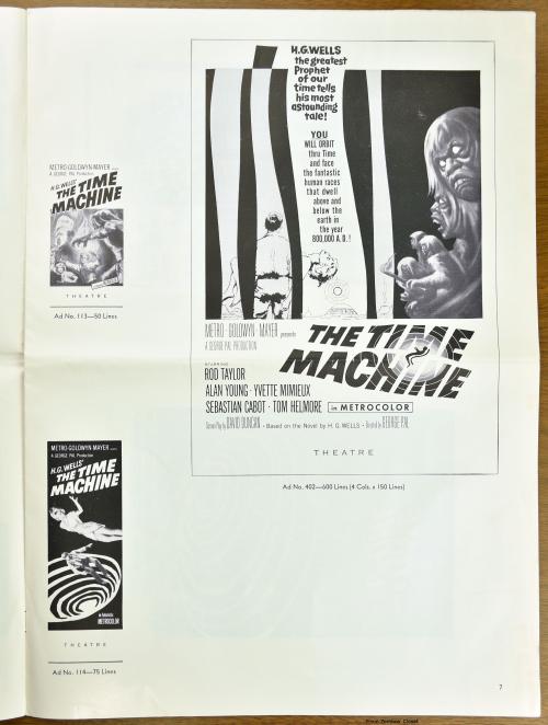The Time Machine Pressbook 01