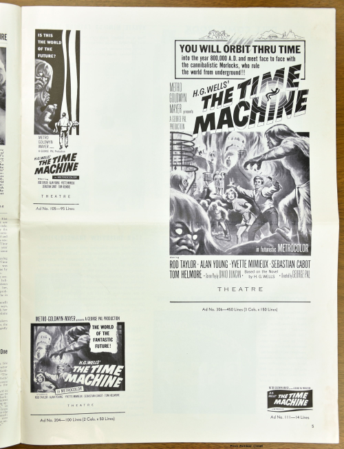 The Time Machine Pressbook 01