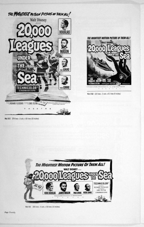 20000 leagues under the sea pressbook-20