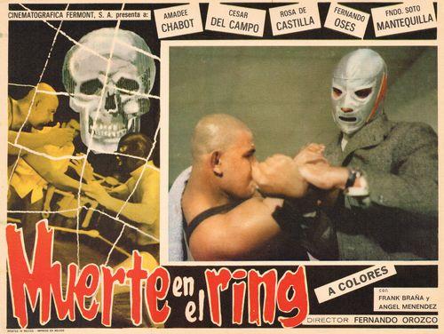 muerte en el ring mexican lobby card