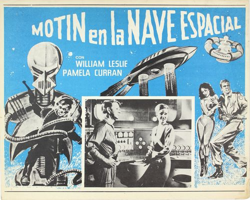 mexican lobby card mutiny in outer space