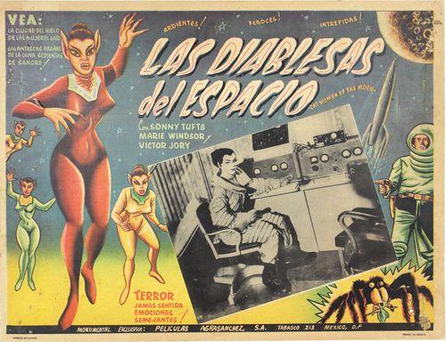 Diablesas del espacio mexican lobby card