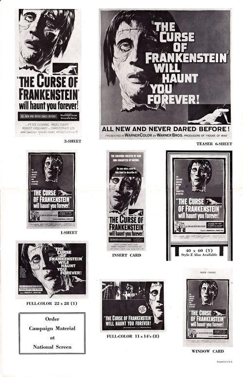 Curse of frankenstein pressbook 12