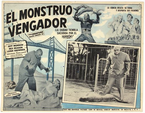 Creature walks among us mexican lobby card (2)