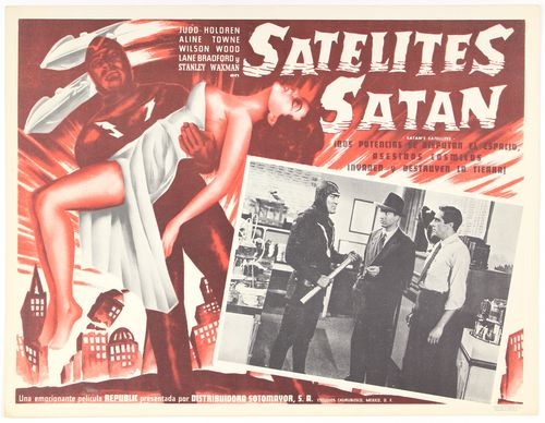 satan's satellites mexican lobby card
