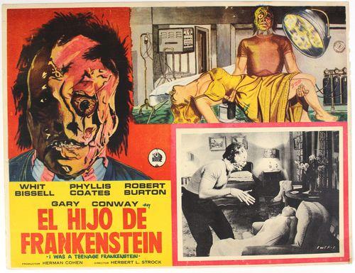 Teenage Frankenstein mexican lobby