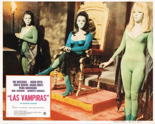 Mexican lobby card_las vampiras