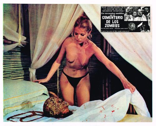 Mexican lobby card zombie