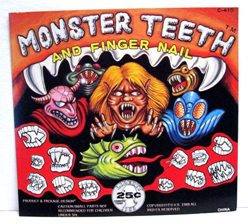 Monster teeth 3