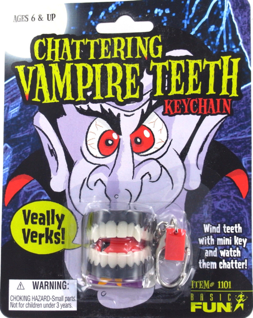 chattering vampire teeth for halloween