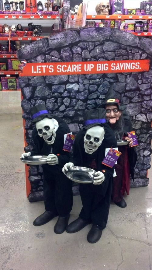 home depot halloween 2015 animatronics