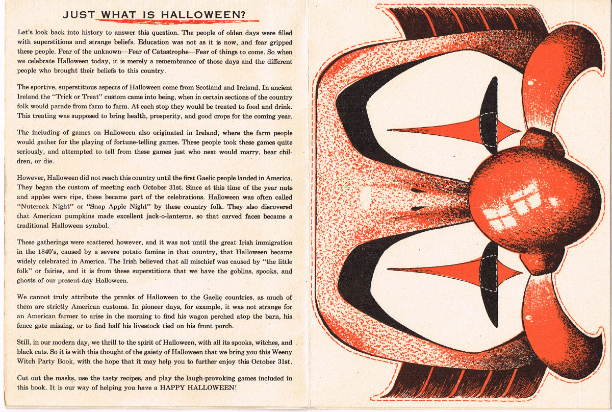 Halloween Weeny-Witch Party Book (From Zombos' Closet)