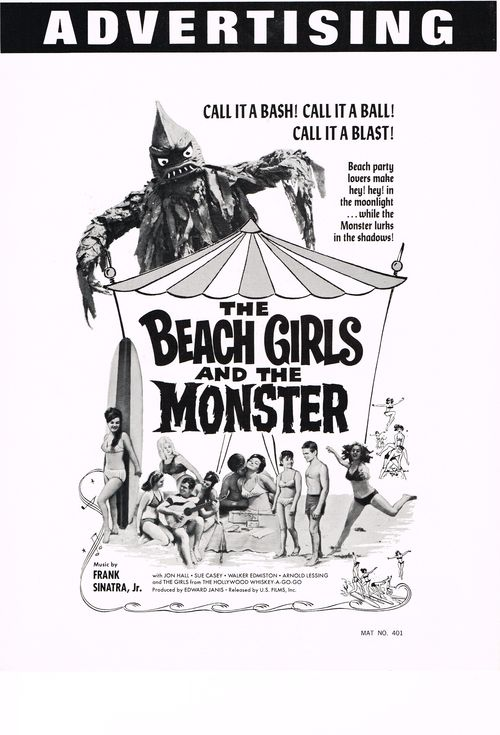 Pressbook beach girls monster 3