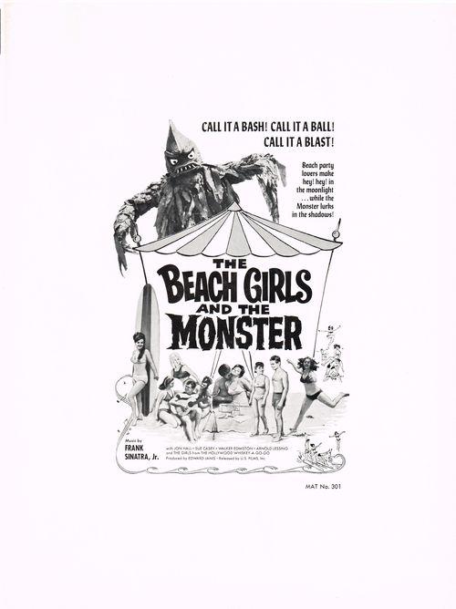 Pressbook beach girls monster