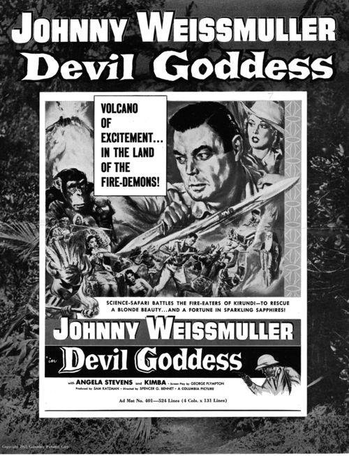Devil goddess pressbook