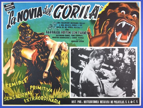 bride of the gorila lobby card