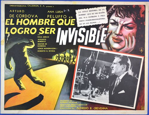invisible man mexican lobby card
