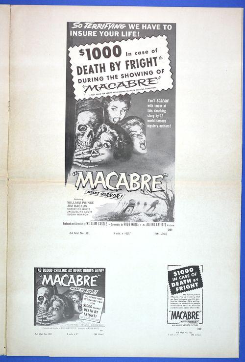 macabre movie pressbook 3