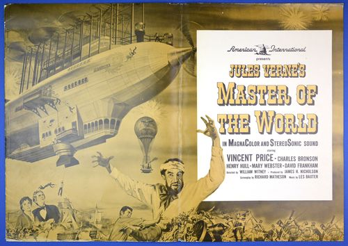 master of the world pressbook