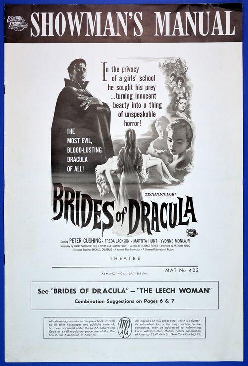 brides of dracula pressbook
