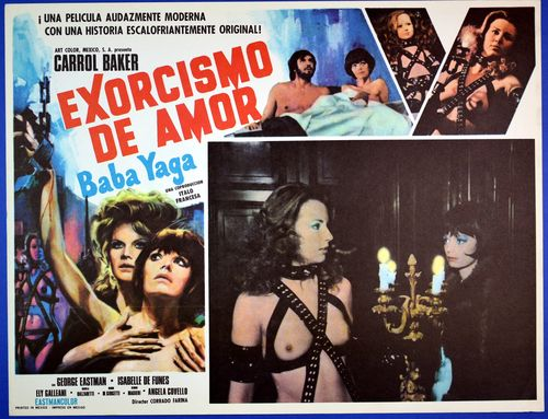 Exorcismo mexican lobby card