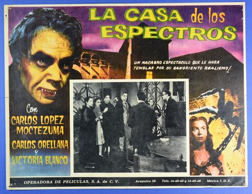 Casa espectros mexican lobby card
