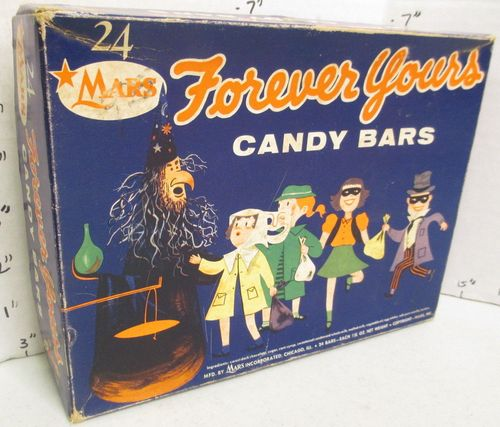 Halloween Forever yours candy bars box