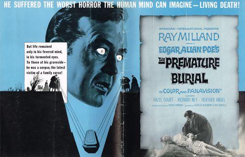 Premature Burial Pressbook 01