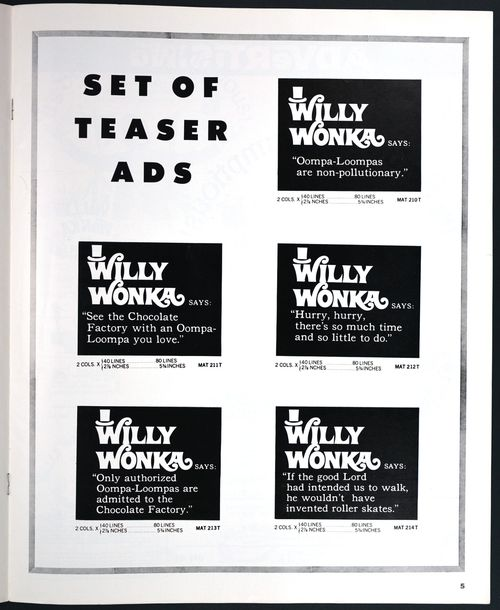 Willy Wonka Pressbook 01
