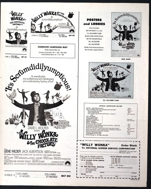 Willy Wonka Pressbook 08