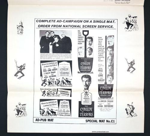 Comedy of Terrors Pressbook 01