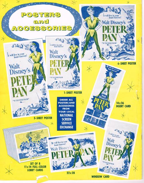 Peter pan pressbook