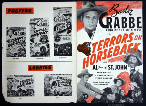 Terrors on Horseback Pressbook 01