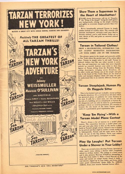 Tarzan pressbook