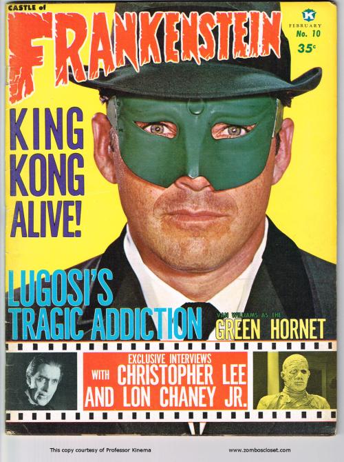 Castle of Frankenstein Issue 10