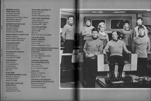 Star Trek Fan Clubs Issue 2