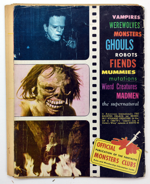 Fantastic Monsters of the Films v1-6001
