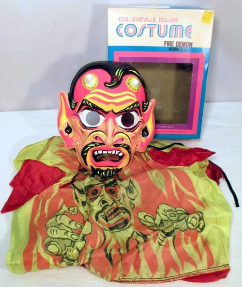 Fire demon costume bidzilla! 1