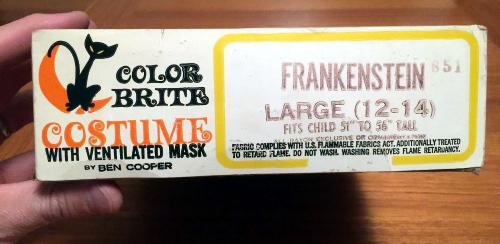 Frankenstein costume bupkis66  2